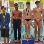 Boys Varsity Diving finishes 1st place at Mooresville Dive Invitational