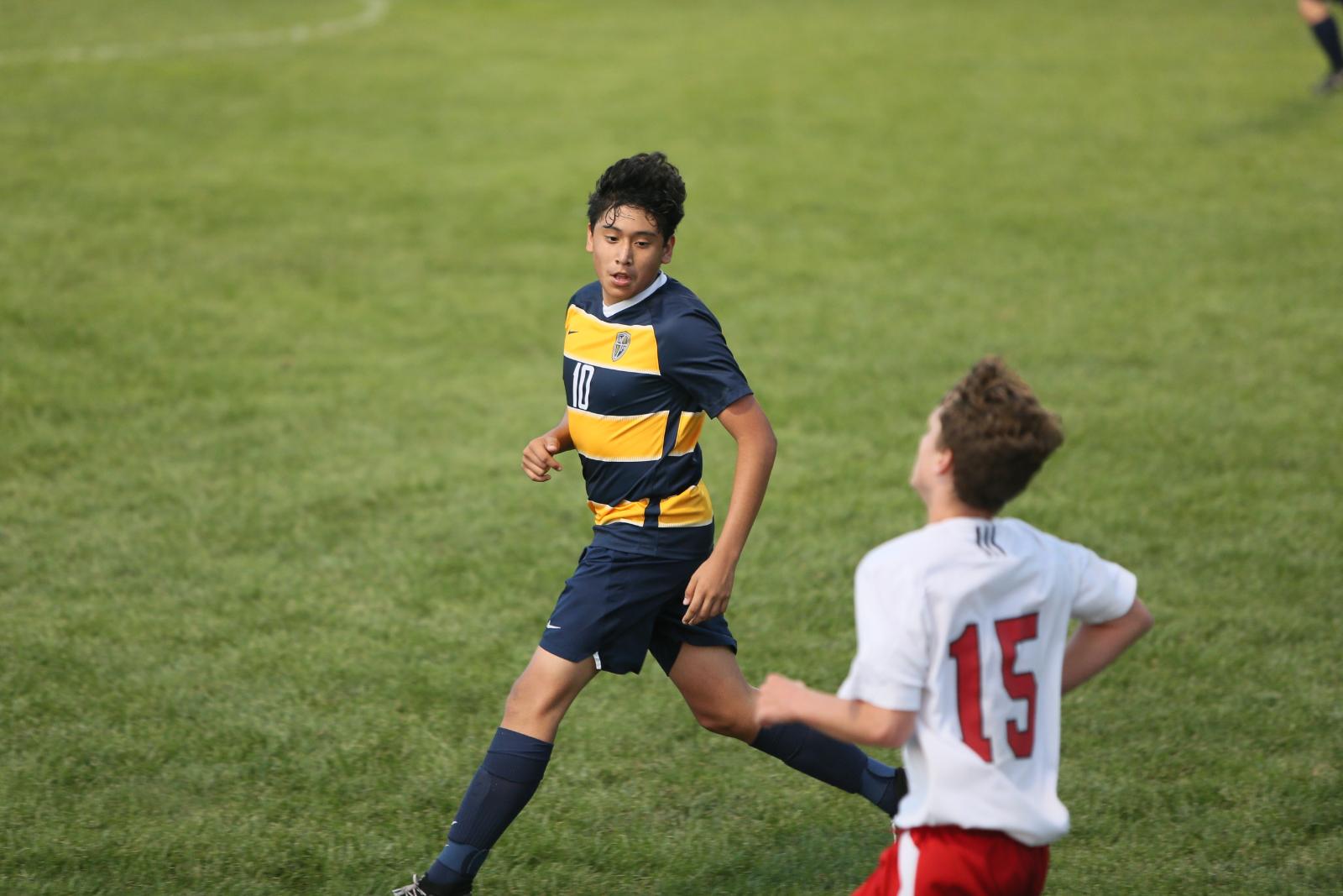 Boys Soccer vs. New Palestine 8/18/20