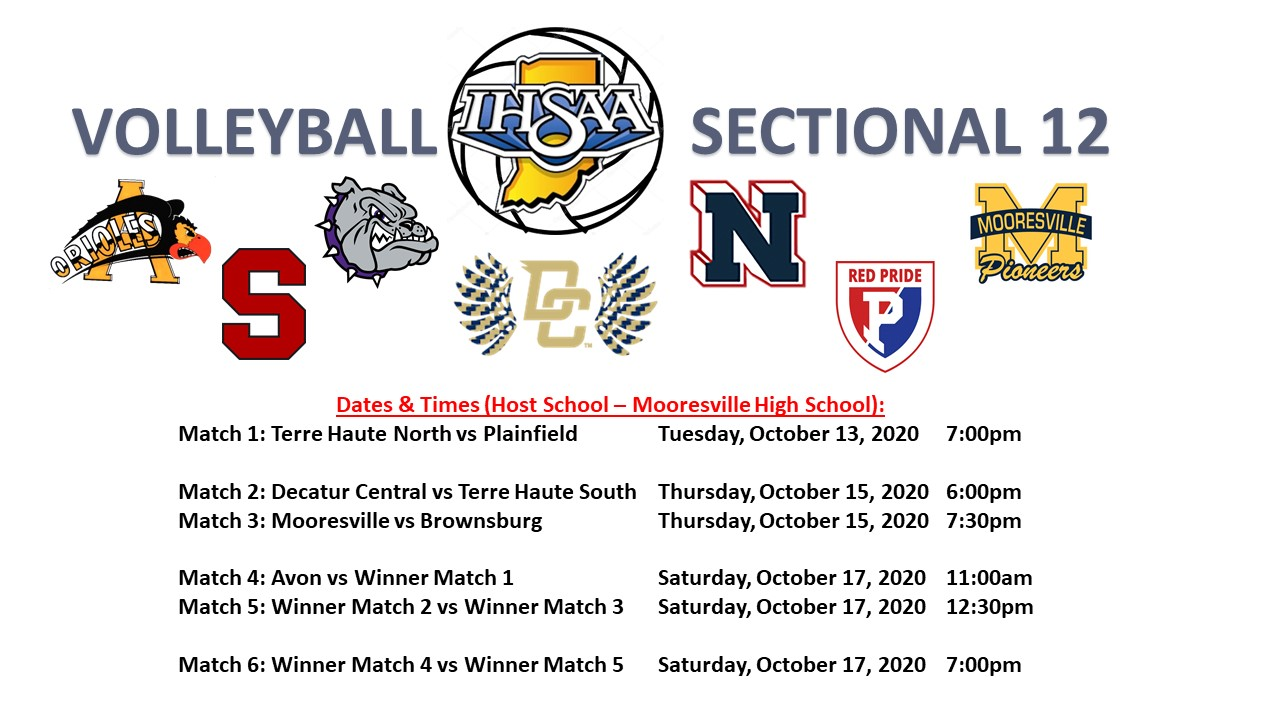 Mooresville Hosts Volleyball Sectionals