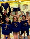 Boys Varsity Swimming beats Cardinal Ritter 92 – 72