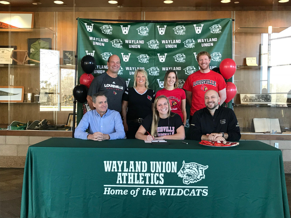 Ally Schafer Signs With Louisville – Wins Back to Back Regional Dive Championships