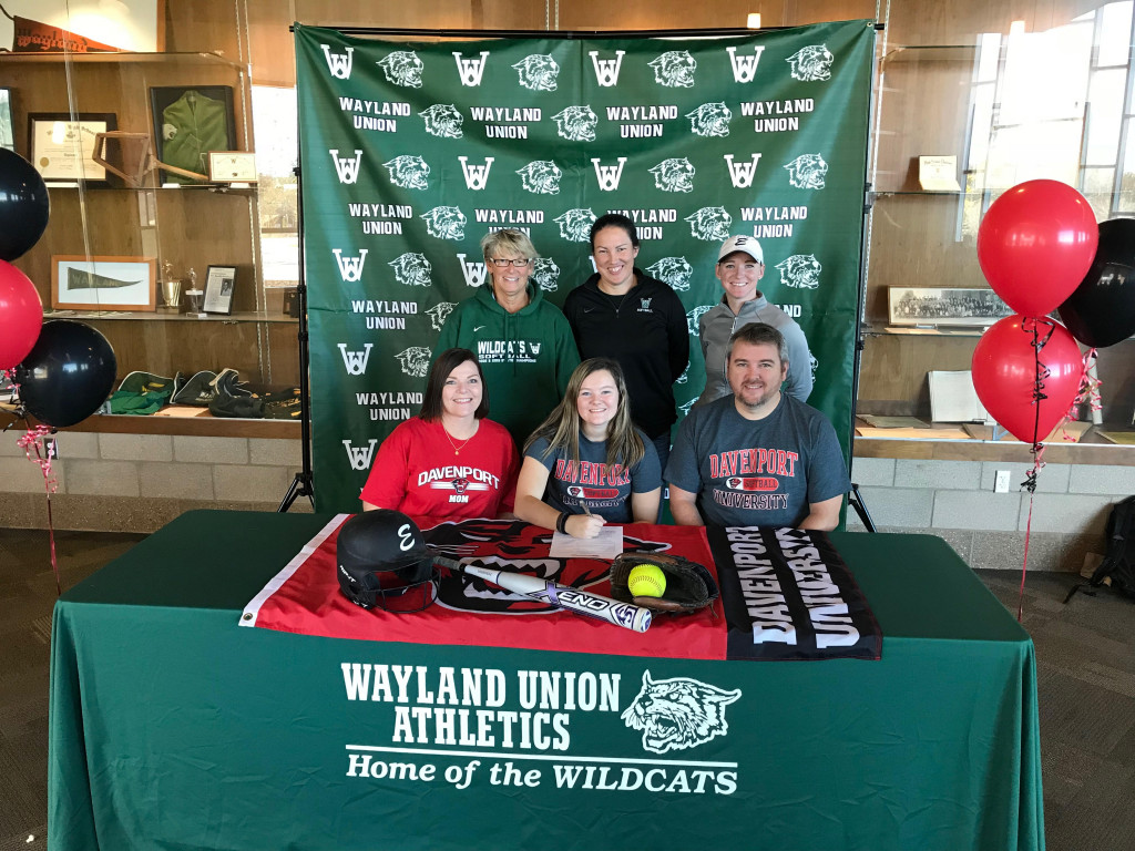 Abby Merice Signs to Continue her Softball Career at Davenport University