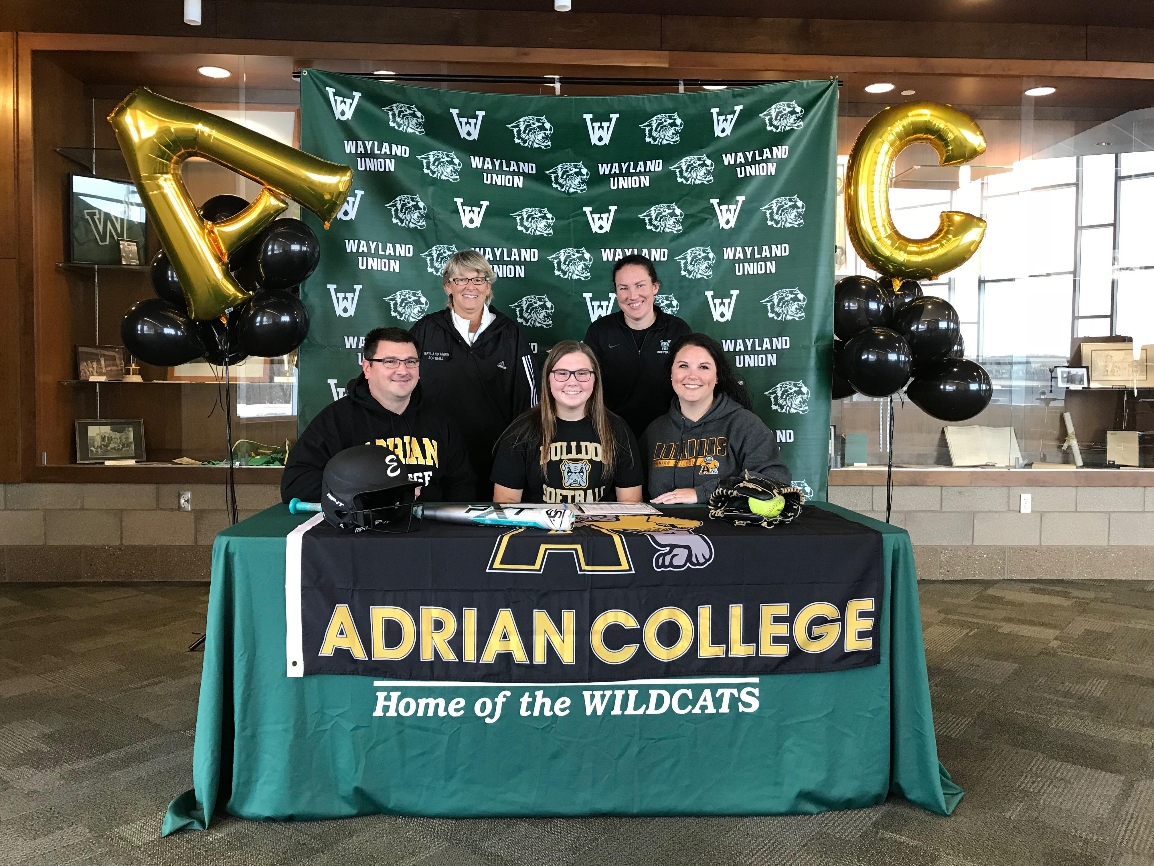 Lauren McCulligh Signs to Continue her Softball Career at Adrian College