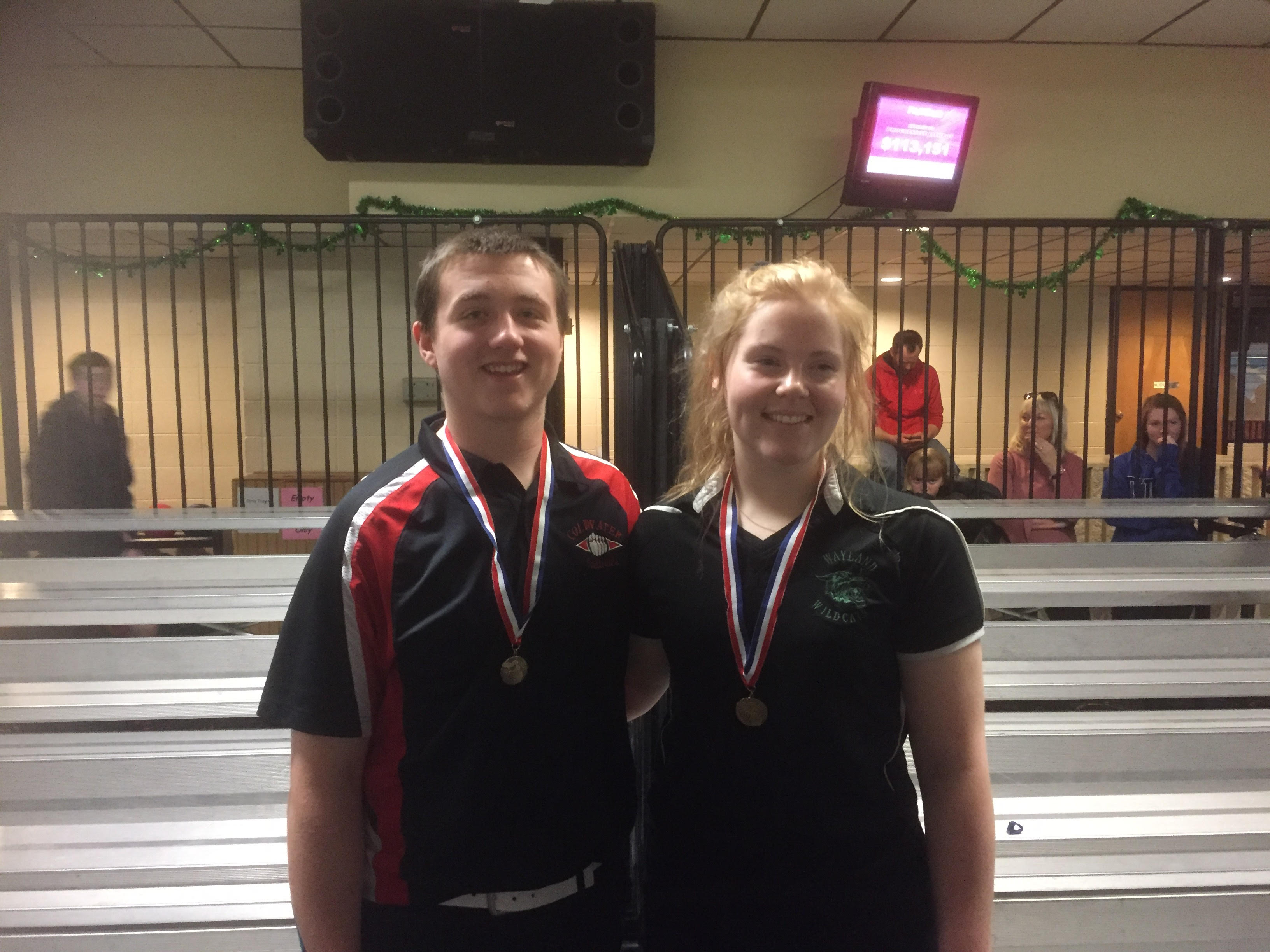 Sydney Urben, MHSAA Individual Bowling State Champion!