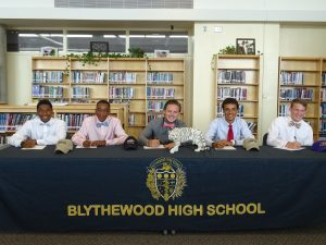 May 2015 Scholarship Signing Ceremony