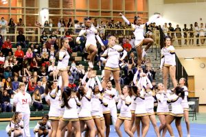 Blythewood Cheerleading at Upperstate Qualifying