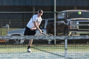Boys Tennis vs. Spring Valley courtesy of @GoFlashWin