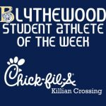 Chiles Selected As Chick-fil-A Student-Athlete of the Week