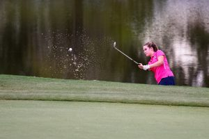 Girls Golf vs. White Knoll (Courtesy of @GoFlashWIn)