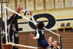 Volleyball vs. Irmo  (Courtesy of @GoFlashWin)