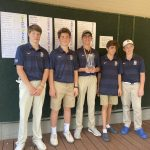 Boys JV Golf finishes 2nd place at JV Bengal