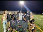 Girls Varsity Track finishes 1st place at Region IV 5A Championships