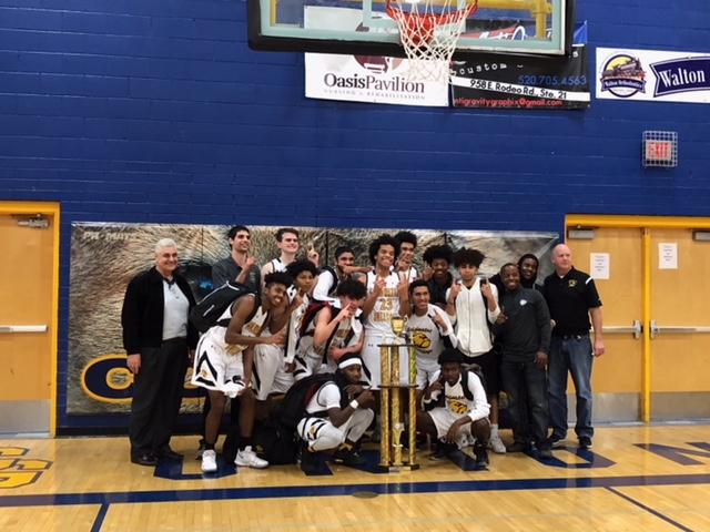 Boys Basketball Wins Central Arizona Holiday Classic