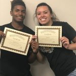 Chiara Raffi and Rascheed Sterling Named August Athletes of the Month