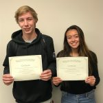 Hannah Schlotterbeck and Travis Levario Named October Athletes of the Month