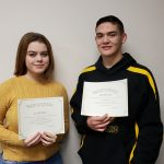 Elizabeth Palmo and Noah Sweilem Named November Athletes of the Month