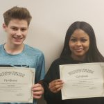 Yhaine Wynn and Jason Kinder Named December Athletes of the Month