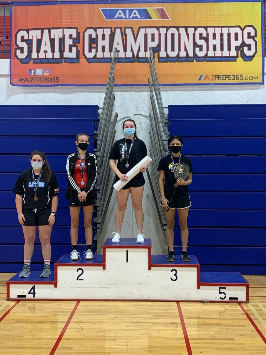 Alyssa Baca takes third at state tournament