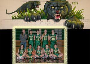 Girls Freshman Basketball Team Photo