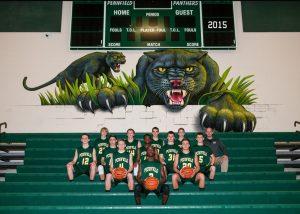 Boys Junior Varsity Basketball Team Photo