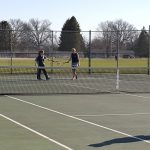 Pennfield High School Girls Varsity Tennis beat Galesburg-Augusta High School 6-2