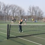 Pennfield High School Girls Varsity Tennis beat Hastings High School 5-3