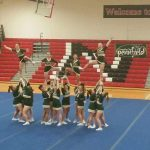 Pennfield High School Girls Varsity Competitive Cheer finishes 4th place