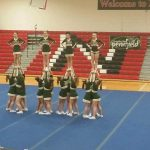 Pennfield High School Girls Varsity Competitive Cheer finishes 2nd place