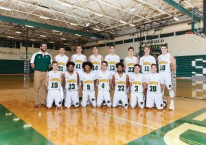 Boys JV Basketball 17-18