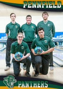 Boys JV Bowling Team 17-18