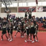 Pennfield Varsity Competitive Cheer Places 2nd at Season Opener