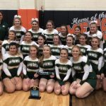 Girls Varsity Competitive Cheer finishes 2nd place at Jonesville Classic