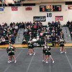 Girls Varsity Competitive Cheer finishes 1st place at I-8 Jamboree