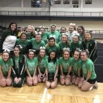 Girls Varsity Competitive Cheer finishes 2nd place at Hamilton Invitational