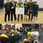Bill Evans Tournament (BCC) Pennfield Varsity Wrestling Shows Improvement