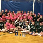 Girls Varsity, JV and Middle School Competitive Cheer finishes 1st place at Harper Creek Invitational