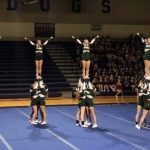 Girls Varsity Competitive Cheer Finishes 2nd Place at District 13-3 Final