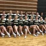 Girls Varsity Competitive Cheer finishes 7th place at Division 3 Competitive Cheer Regionals