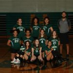Girls Volleyball 7th Grade B Team