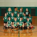 Girls Volleyball 8th Grade B Team
