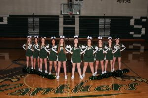 19-20 Pennfield Junior Varsity Competitive Cheer Team