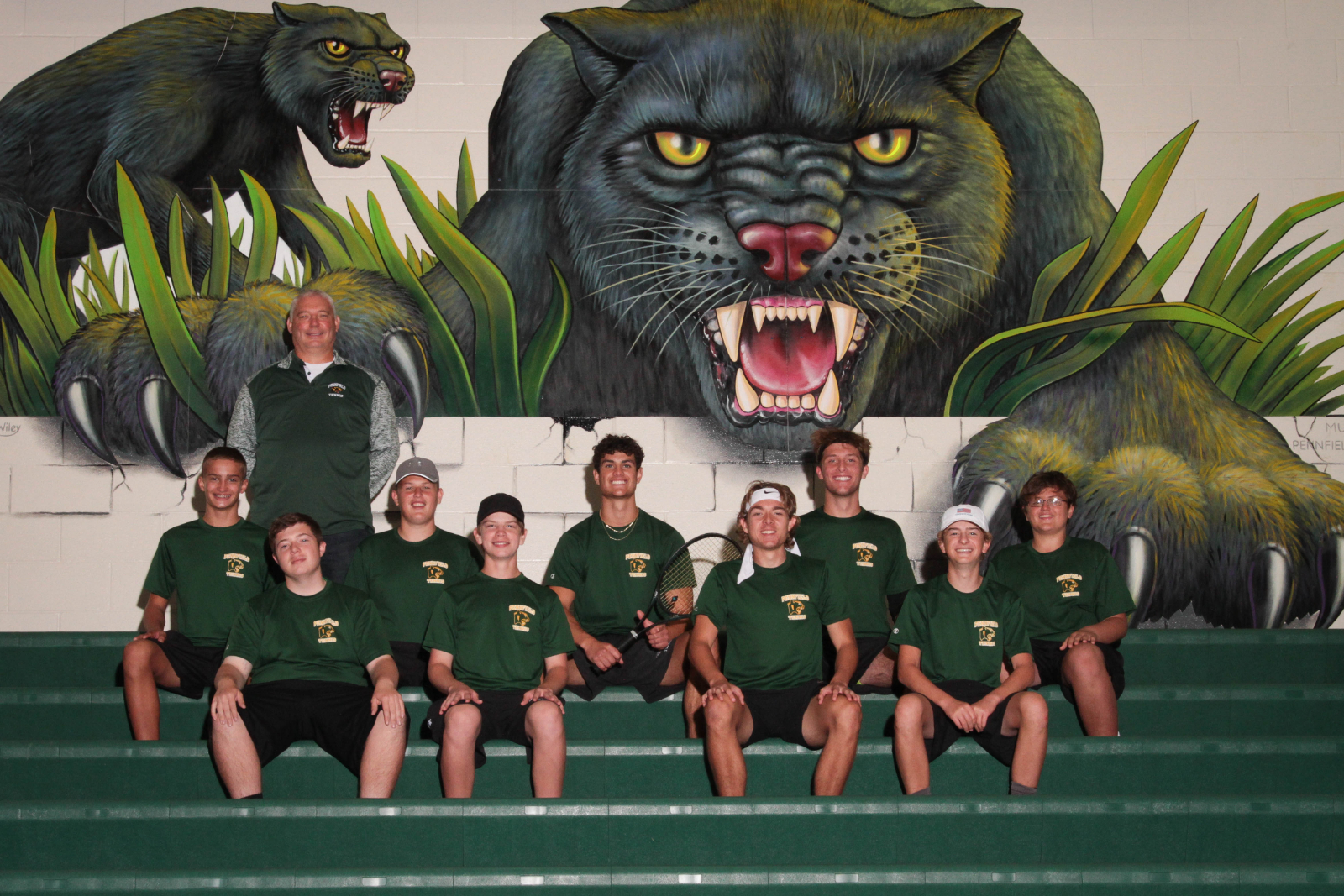 20-21 Pennfield High School Boys Tennis Team