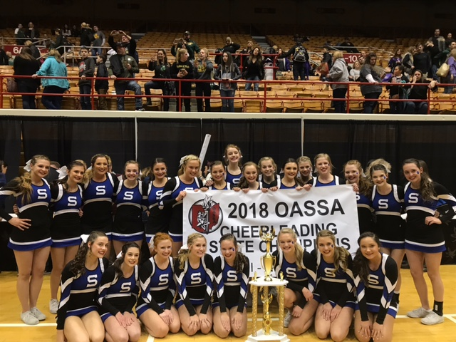Springboro Competition Cheer Wins State Championship