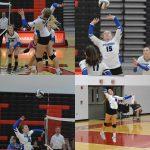 Girls Volleyball Downs Wayne