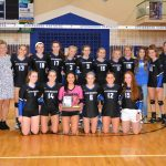Volleyball Team GWOC West Champions!