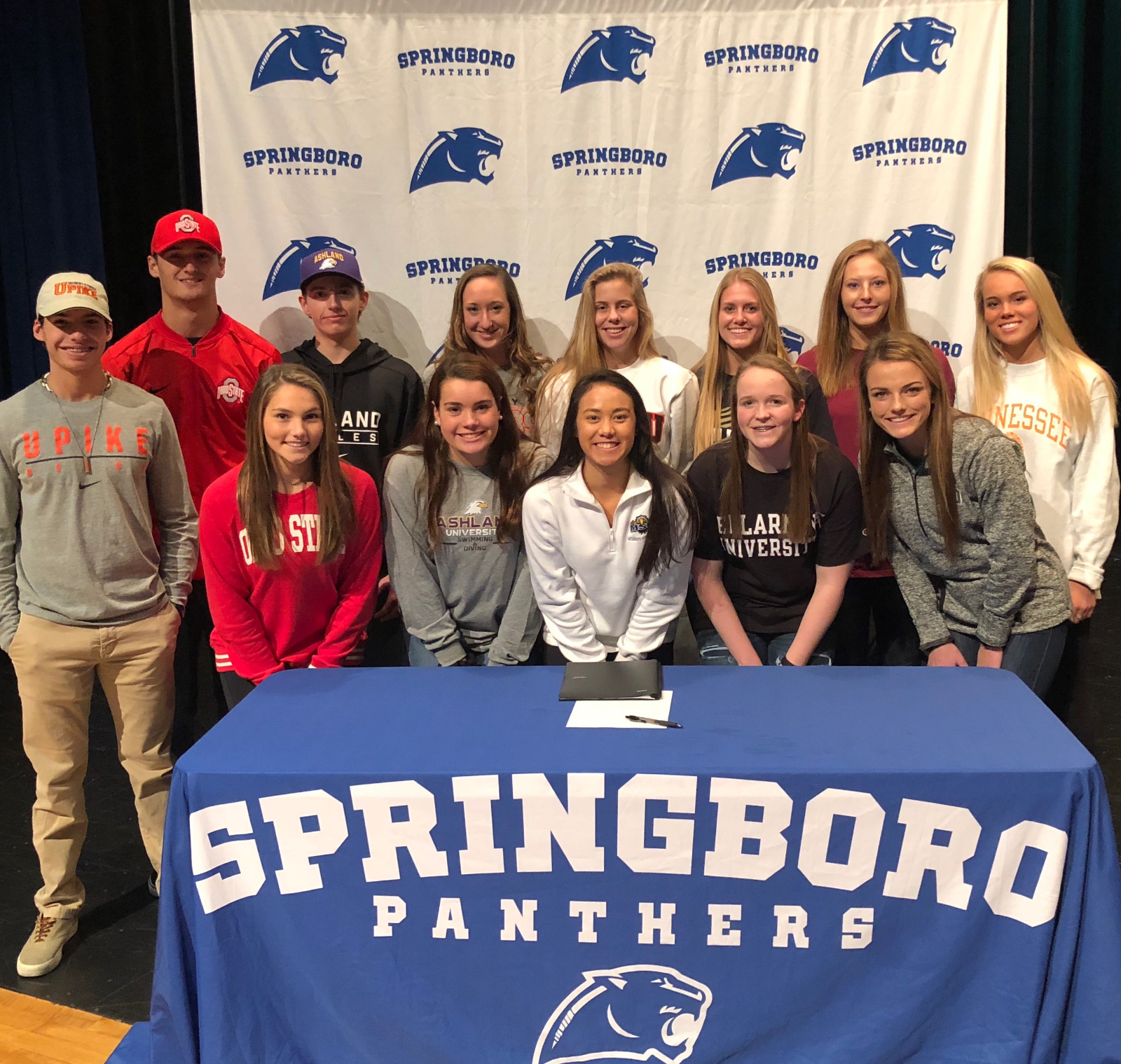 13 Panther Athletes Commit on National Signing Day
