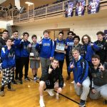 Varsity Wrestling finishes 1st place at Gwoc