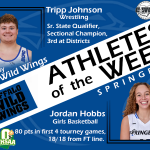 Athlete of the Week: 2/10/2020-3/8/2020