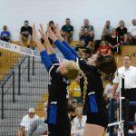 Girls Varsity Volleyball falls to Bishop Fenwick 3 – 0