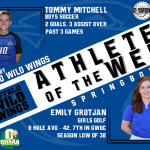 Buffalo Wild Wings: Athlete of the Week